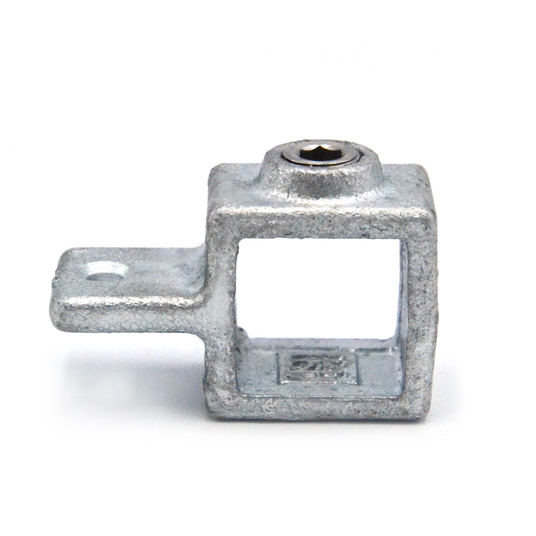 Buiskoppeling Oogdeel scharnierstuk - vierkant-25 mm